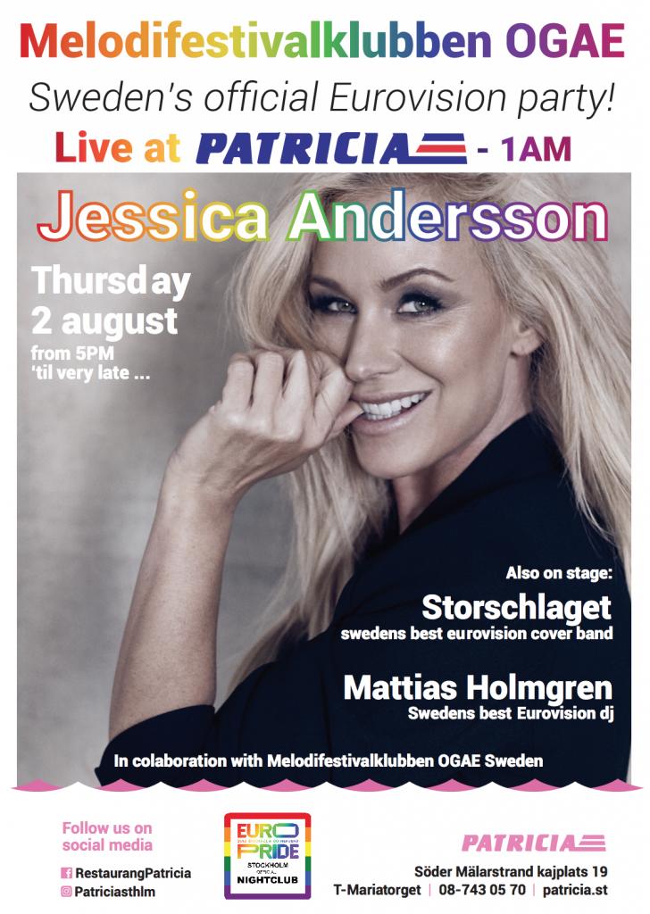 Efterfest Patricia Stockholm Pride