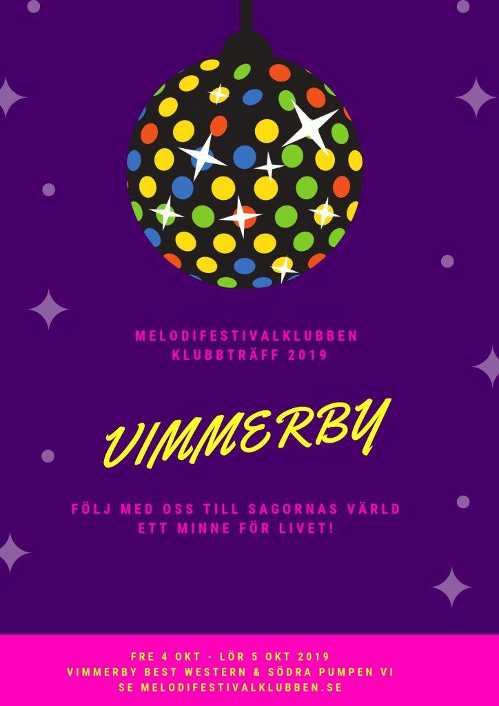 Klubbträff 2019 Vimmerby poster
