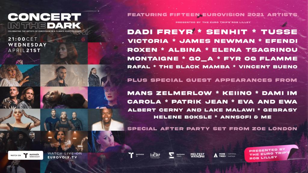 Concert in the Dark Line Up